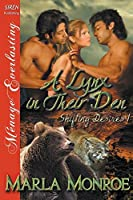 A Lynx in Their Den: Siren Publishing Menage Everlasting (Shifting Desires)