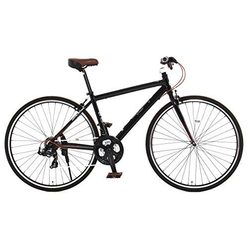 DOPPELGANGER(ドッペルギャンガー) 404 Not Found 700x28C クロスバイク【軽量アルミフレーム】シマノ 21段変速 リジッドフォーク LEDライト/鍵/スタンド付 Liberoシリーズ