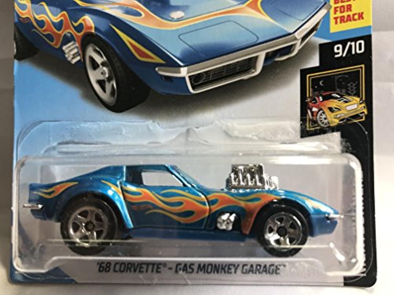 Hot Wheels 2018 '68 CORVETTE コルベット ガスモンキー ガレージ GAS MONKEY GARAGE メタリックブルー 【並行輸入品】