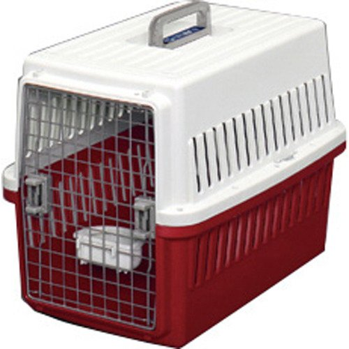 アイリスオーヤマ エアトラベルキャリー ATC-670 オフホワイト/レッド ペット用品 犬用品(グッズ) 犬用おでかけ用品(旅行・お散歩) [並行輸入品]