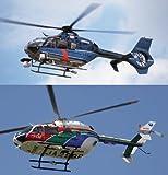 ハセガワ 1/72 EC-135&EC145 警察ヘリ&防災ヘリ