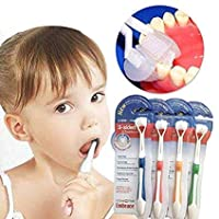 1PC Creative Baby Toothbrush Three Sided Safety Soft Brush Children Oral Hygiene Care Teeth Brushes