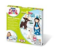Fimo Modelling Set and 803418LY Kidsフォーム& Play雪プリンセス、レベル2