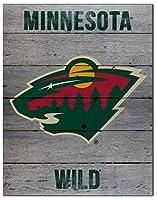 "KHスポーツファン16"" x20"" Minnesota Wild Road To Victory NHL Pallet Pride Plaque"