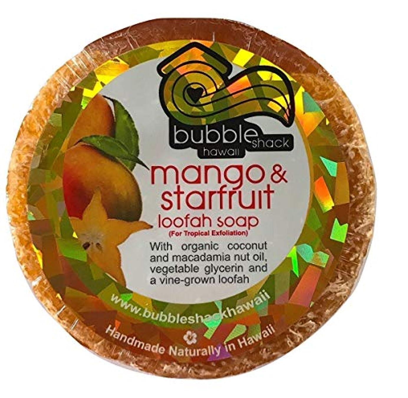 興奮ライラック本気ハワイアン雑貨/ハワイ 雑貨【バブルシャック】Bubble Shack Hawaii ルーファーソープ(マンゴ&スターフルーツ) 【お土産】