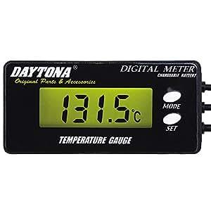 デイトナ(DAYTONA) デジタルテンプメーター(PAT.P) 油温 水温対応 46162