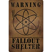 Gravity Falls - Fallout Shelter - Aluminum Sign by The Mystery Shack [並行輸入品]