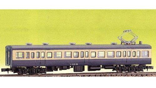Nゲージ 413-1 JR111 (115)系初期増結用 中間2輌 (未塗装車体キット)