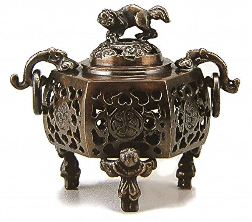 美しいミット熱望する『葵?香炉』銅製