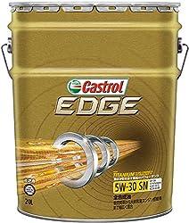 CASTROL(カストロール) エンジンオイル EDGE 5W-30 SN CF GF-5 全合成油 4輪ガソリン ディーゼル車両用 20L