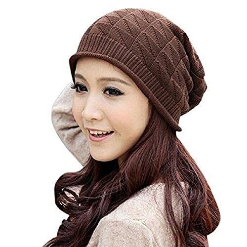 Doitsa針織帽貝雷帽電纜編織扭曲暖冬女裝薄春秋冬男女皆宜