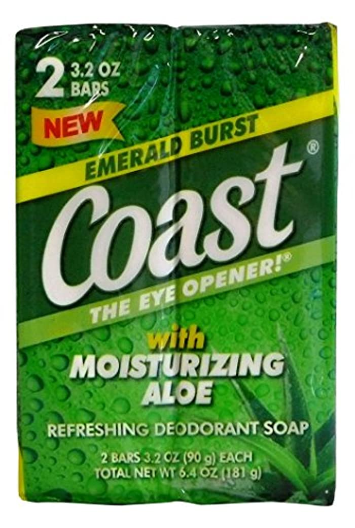 妖精子供時代むしろコースト 固形石鹸 エメラルドバースト 90g 2個入