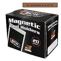ボックスの20BCW磁気カードホルダー–35Pt。