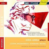 SWR放送録音集Vol.1 (The SWR Recordings Vol.1 / Geza Anda plays Chopin, Rachmaninov, Schumann, Brahms) (2CD)
