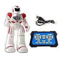SUGE 機械戦幼児教育電気歌と踊り赤外線パズルジェスチャーセンシングリモコン子供知能ロボット 歌うと踊る警察