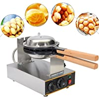 Tlegend Instrument?つ? FY-6 Electric Stainless steel egg waffle maker Non-stick pan waffle grill Egg puff machine 110V/220v by Tlegend Instrument