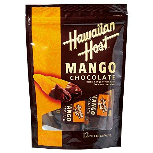 [ハワイお土産] ハワイアンホスト ドライマンゴーチョコレート (海外 みやげ ハワイ 土産)