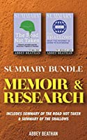 Summary Bundle: Memoir & Research: Includes Summary of The Road Not Taken & Summary of The Shallows