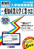 愛知産業大学工業高等学校過去入学試験問題集2020年春受験用 (愛知県高等学校過去入試問題集)