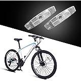 BSK 自転車汎用 ホイールリフレクター 反射板 ホワイト