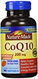 Nature Made CoQ 10 Liquid Softgels Naturally Orange 200 mg Value Size -140CT by Nature Made