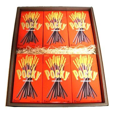 おかしのマーチ グリコ ポッキー チョコレート 12個 ギフト セット K