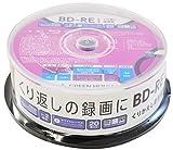 グリーンハウスBD-RE 録画用 25GB 1-2倍速 20枚 スピンドル GH-BDRE25B20