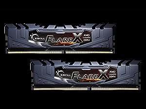 G.Skill F4-3200C14D-16GFX (DDR4-3200 CL14 8GB×2) AMD Ryzen用メモリ