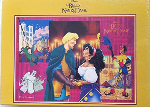 ディズニー 「ノートルダムの鐘」 The Bells of Notre Dame 500ピース ジグソーパズル (35×49cm) D-500-315