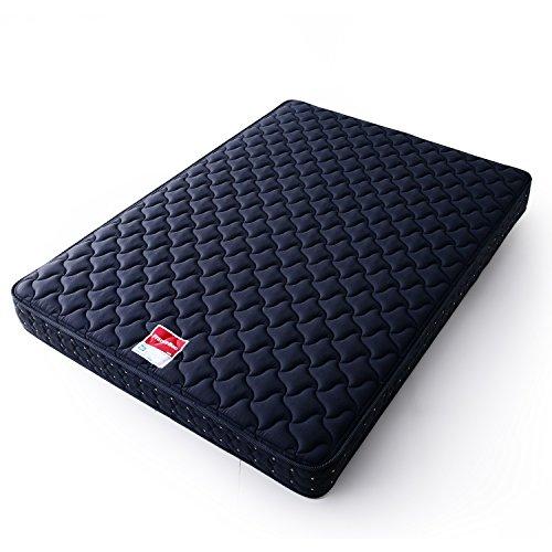 LOWYA (ロウヤ) フランスベッド マットレス 日本人のためのマットレス 硬め 高密度連続スプリング 側面通気孔 3Dウェーブキルト 軽量 日本製 プレミアムハード ダブル 195x140 チャコールグレー おしゃれ