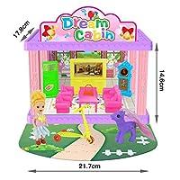 RaiFu ドールハウス DIY 3D 人形ハウス おもちゃ モデル 誕生日プレゼント 子供用品 388-A2 living room