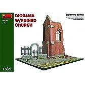 ミニアート 1/35 ジオラマベース30 廃墟の教会 MA36030