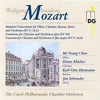 Sinfonia Concertante / Clarinet Concerto