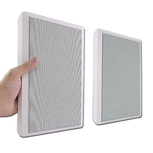 壁掛けフラットスピーカー超薄型【Wall Speakerホワイト】