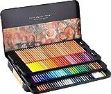 1stモール 巨匠の 油性色鉛筆 100色 72色 48色 36色 24色 えんぴつ ペン 絵画 デッサン 風景画 模写 アート 人物 上達 趣味 キャンパス (100色セット) ST-KYOSHOPEN-100
