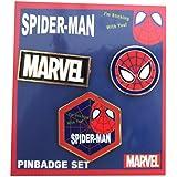 MARVEL POP ICON/ピンバッジセット/スパイダーマン
