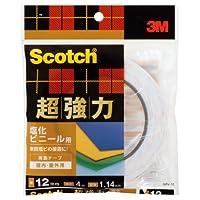 3M スコッチ 超強力両面テープ 塩化ビニール用 12mm×4m SPV-12