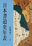 日本書道史年表 画像
