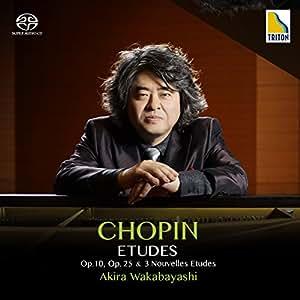 ショパン:エチュード全集《op.10、op.25、3つの新練習曲》