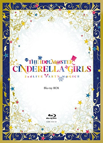 THE IDOLM@STER CINDERELLA GIRLS 2ndLIVE PARTY M@GIC!! Blu-ray BOX Blu-ray 3매 셋트(본편2매,특전 디스크1매) 【완전 한정 생산】-