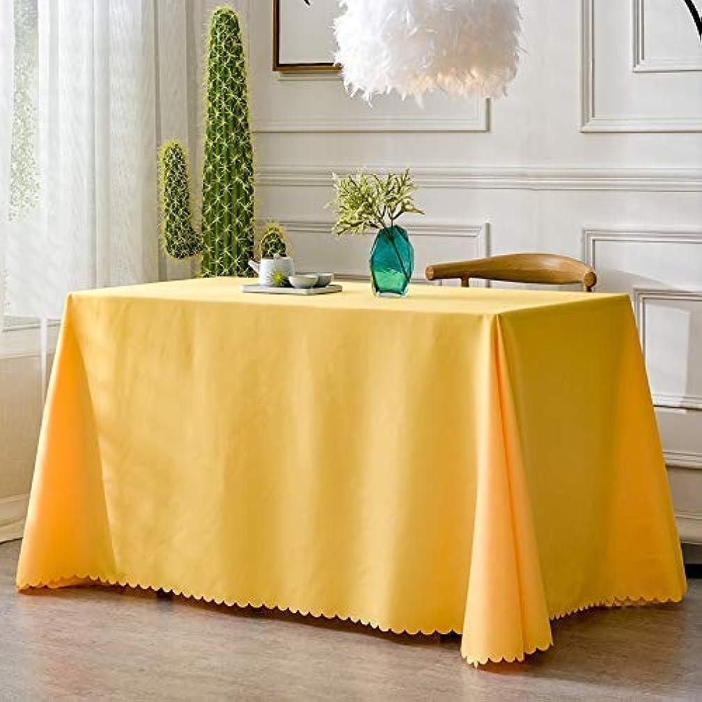 出身地膿瘍パット単色厚く会議テーブルクロス生地長方形オフィス展示白い結婚式テーブルカバーテーブルクロス(色:F、サイズ:140 * 180 cm)
