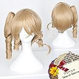 耐熱コスプレウィッグ  TOZ テイルズ オブ ゼスティリア Tales of Zestiria アリーシャ・ディフダ Alisha Diphda コスチュム cos wig