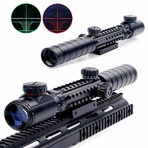 Uniquefire 3-9x32EG スパイダースコープ レッド&グリーン ハイエンドモデル 実銃対応 バトラーキャップ