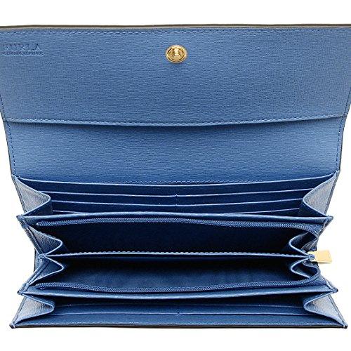 new concept def30 a7030 フルラ] 長財布レディースFURLA 943176 PS12 B30 CFT ブルー ...