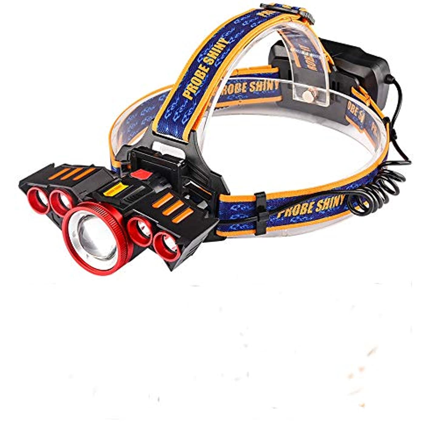 日没つば硬化するヘルメットライト 1*XM-L T6 LED+4*XPEヘッドランプ Headlight 强力 高輝度 可充電式 ヘッドライト 800ルーメン TangQI 角度調節可能 4点灯モード ズーム模式 18650電池付き アウトドア キャンプ 防水 停電時用 ハイキング サイクリング 防災 登山 夜釣り 夜間走行 ウォーキング スポーツ 野外活動 自転車 作業に適用