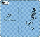 iPhone/Xperia/Galaxy/他機種選択可:サッカー/グラフィティ/へのへのもへじタッチ手帳ケース(デザイン:C_マンチェスター/17番_01) 04 iPhone6Plus/6sPlus