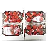 """福岡産博多 """"あまおういちご"""" 等級G(グランデ) 2箱 4パック入り(1パック約270g)(冷蔵便)"""