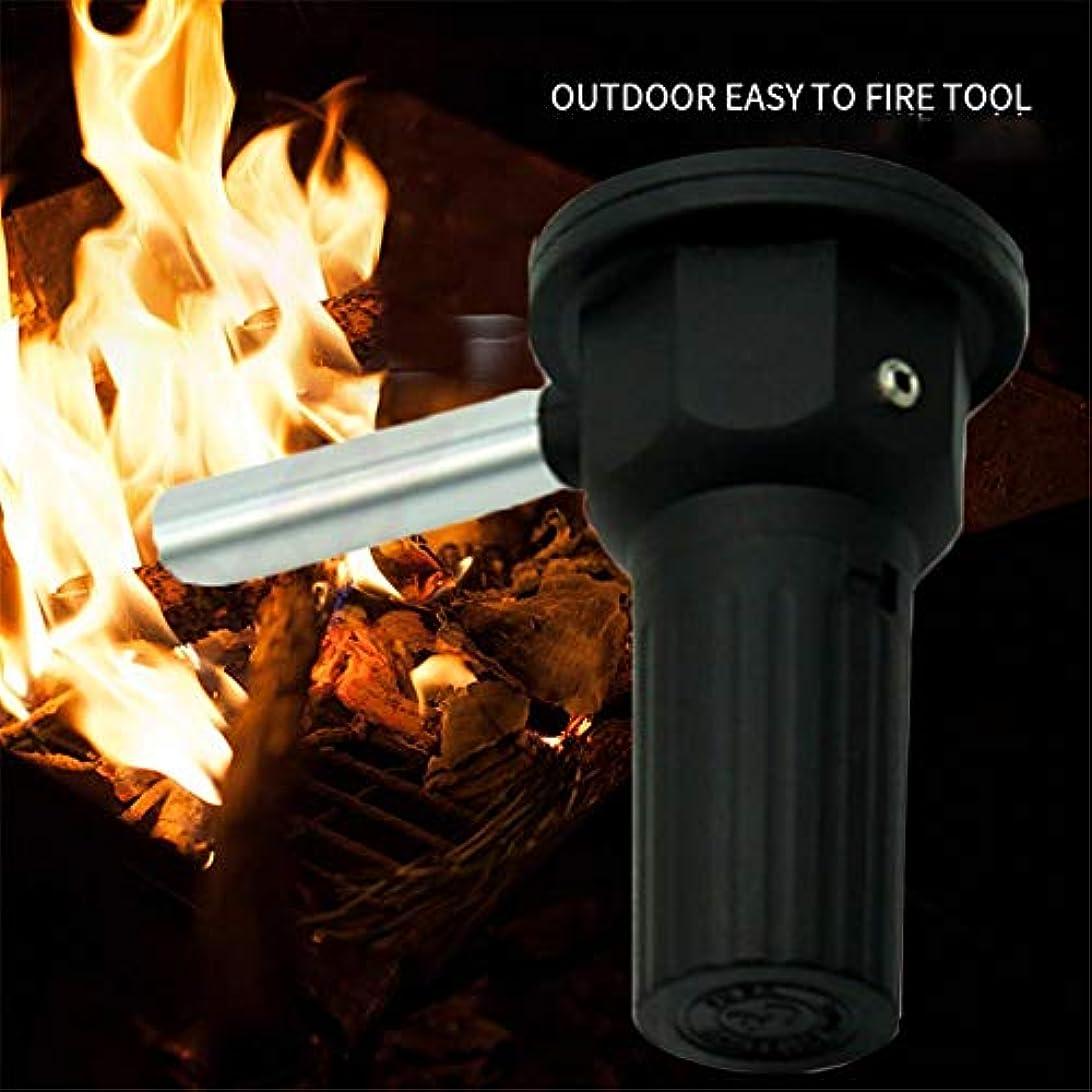 軽減するクローゼット結論送風機 BBQガンブロー バーベキューの火起こしに 着火用具