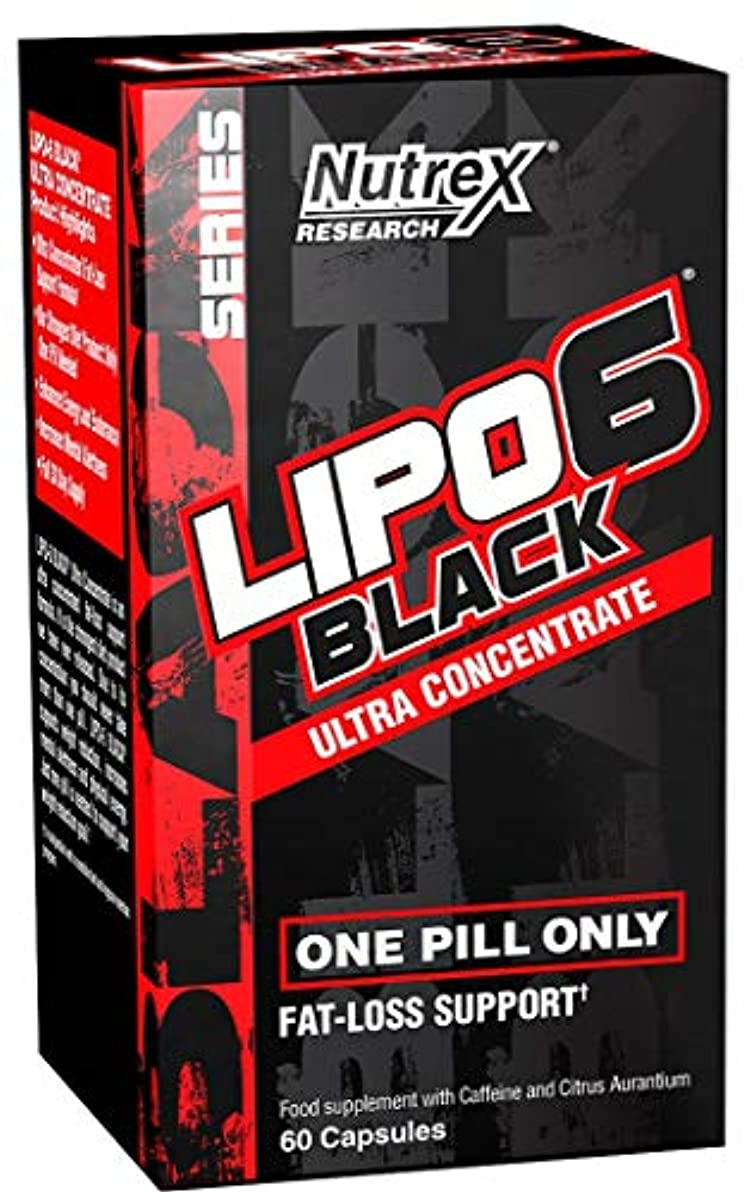 再生連邦予感Nutrex Research Lipo 6 Black Ultra Concentrate EU Version [海外直送品]