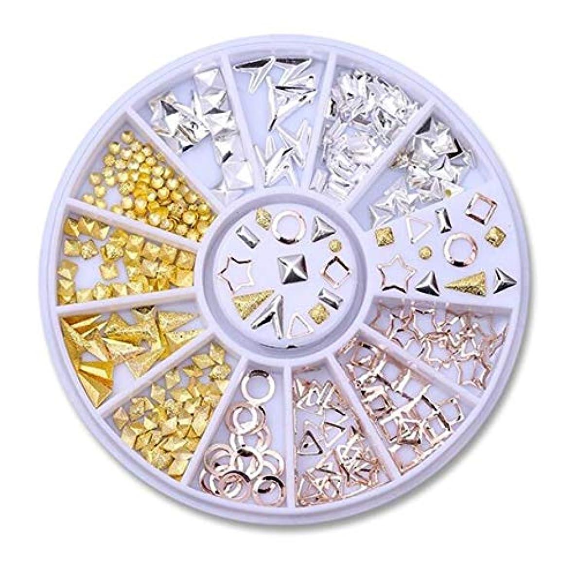 登録夫うぬぼれたネイルラインストーンの小さな不規則なビーズマニキュア3Dネイルアートの装飾の輪,29
